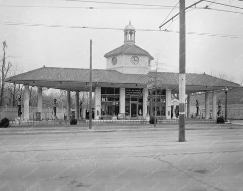 Amoco Lord Baltimore Filling Station 8x10 Reprint Of Old Photo