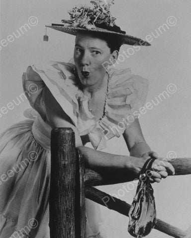 Lady In Large Crazy Hat! 1900s 8x10 Reprint Of Old Photo