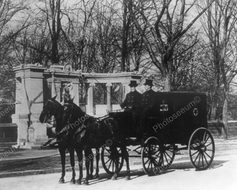 Pabst Brewing Co Horse & Wagon NY 1900s 8x10 Reprint Of Old Photo