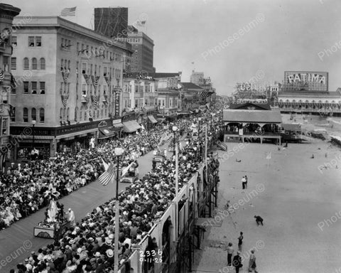 Atlantic City Pageant Sept 1925 Vintage 8x10 Reprint Of Old Photo