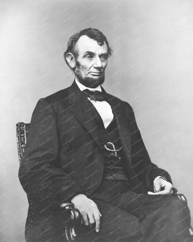 Abraham Lincoln Portrait 1864 Vintage 8x10 Reprint Of Old Photo - Photoseeum