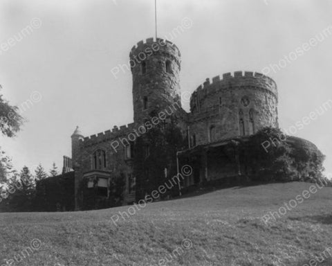 Castle At Tarrytown NY 1900s Old 8x10 Reprint Of Photo