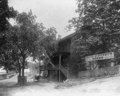 Countryside Vintage Beer Tavern 8x10 Reprint Of Old Photo