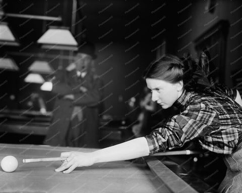 Billiards Champ Martha Clearwater 8x10 Reprint Of 1910 Old Photo 1