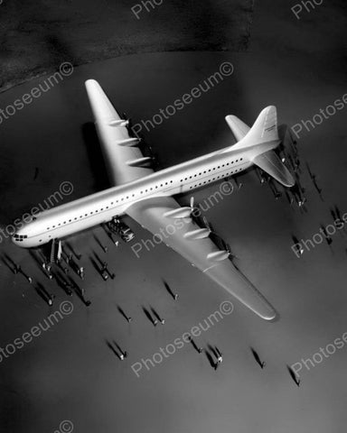 Worlds Largest Transport Plane Vintage 8x10 Reprint Of Old Photo