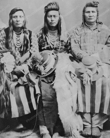 Idaho Indians 1870s Vintage  8x10 Reprint Of Old Photo