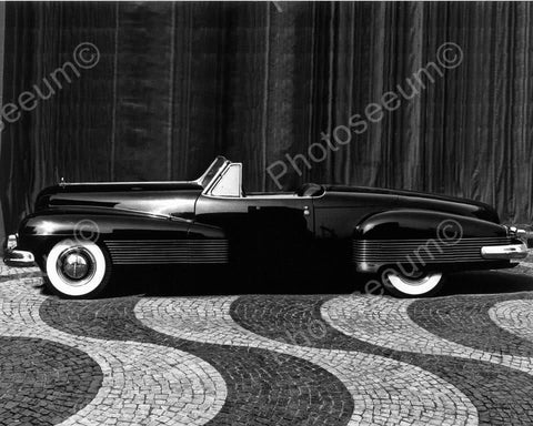 Antique 1938  Buick Convertible Auto 8x10 Reprint Of Old Photo