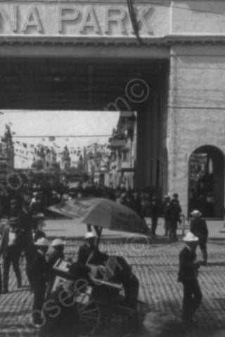 Coney Island Luna Park Surf Entrance 1900 4x6 Reprint Of Old Photo
