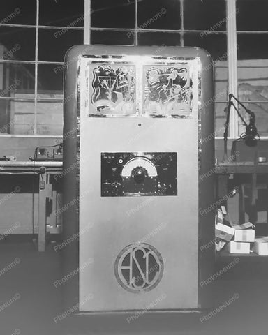 ASC Jukebox Vintage 8x10 Reprint Of Old Photo