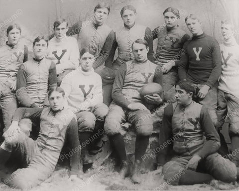 Yale Football Team 1894 Vintage 8x10 Reprint Of Old Photo