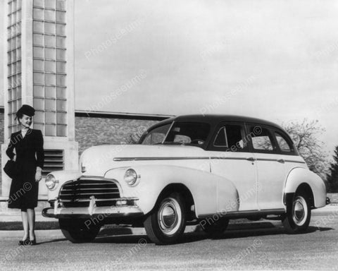 Chevrolet Stylemaster Sport Sedan 1946 Vintage 8x10 Reprint Of Old Photo