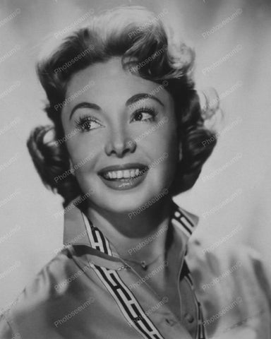 Audrey Meadows All Smiles 8x10 Reprint Of Old Photo