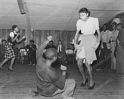 Black Man Gets Down At Juke Joint Dance! 8x10 Reprint Of Old Photo