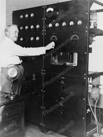 Pioneer TV Television Inventor Dr Jenkins Vintage Reprint 8x10 Old Photo