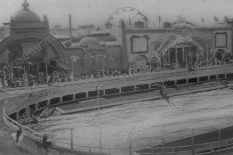 Coney Island Dreamland Hippodrome 1900s 4x6 Reprint Of Old Photo