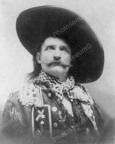 Victorian Redneck Cowboy In Hat 1800s 8x10 Reprint Of Old Photo