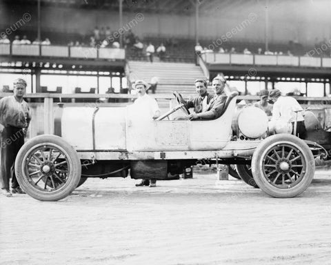 Race Car Ready To Go 1912 Vintage 8x10 Reprint Of Old Photo