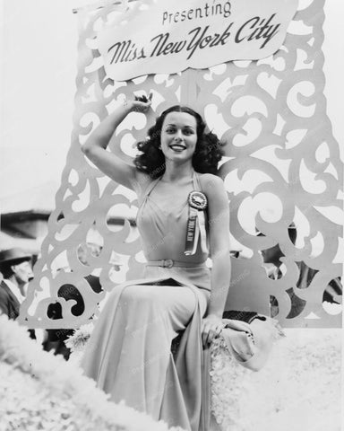 Bess Myerson Miss New York City 1940s 8x10 Reprint Of Old Photo
