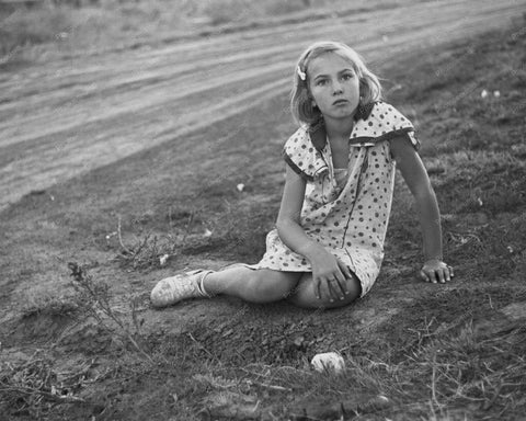 Beautiful Country Girl Portrait 1930 8x10 Reprint Of Old Photo