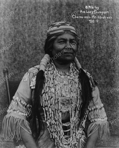 Yurok Indian 1916 Vintage 8x10 Reprint Of Old Photo