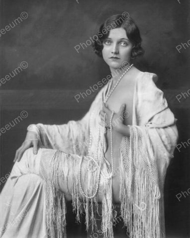 Drienne Ames Showgirl Vintage 8x10 Reprint Of Old Photo