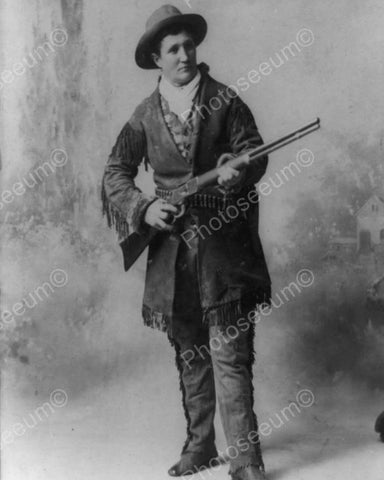 Calamity Jane 1890s Vintage  8x10 Reprint Of Old Photo