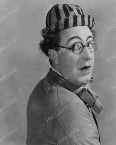 Ed Wynn In Costume As The Perfect Fool 1932 Vintage 8x10 Reprint Of Old Photo - Photoseeum