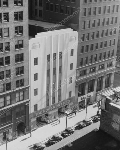 F.W Woolworth Co. Department Store 1940 Vintage 8x10 Reprint Of Old Photo