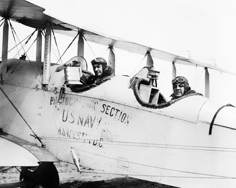 Airplane Photographic Section US Navy 1925 Vintage 8x10 Reprint Of Old Photo - Photoseeum