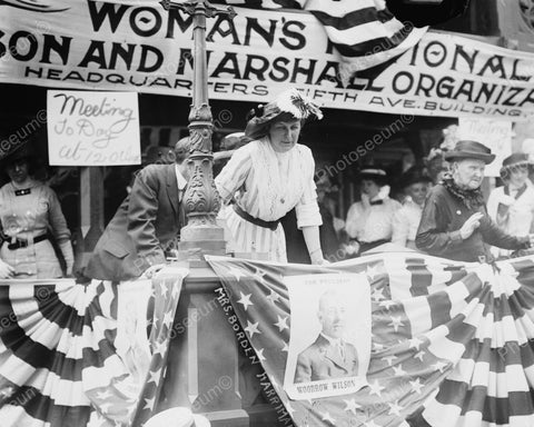 Women Suffrage Rally 1912 Vintage 8x10 Reprint Of Old Photo