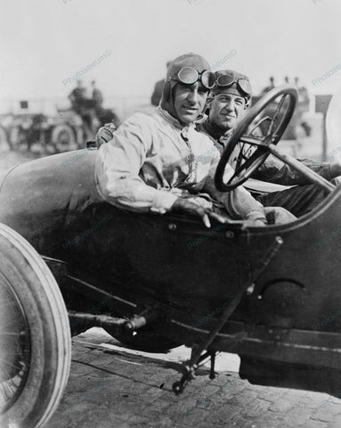 Auto Car Racers 1916 Vintage 8x10 Reprint Of Old Photo