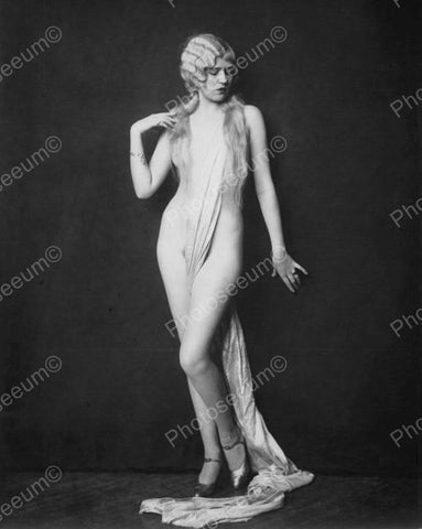 Adele Smith Show Girl Vintage 8x10 Reprint Of Old Photo