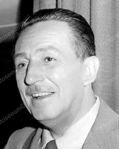 Walt Disney Portrait Vintage 8x10 Reprint Of Old Photo