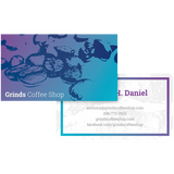Colorful Coffee Business Card Template