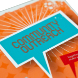 Community Outreach Business Card Template