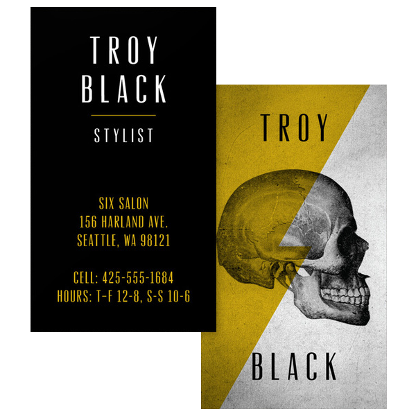Edgy stylist business card template business cards edgy stylist business card template colourmoves