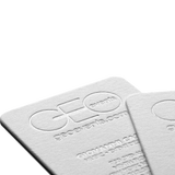 Geo Events business card design