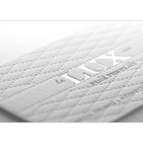 Lux Fine Jewelry business card design