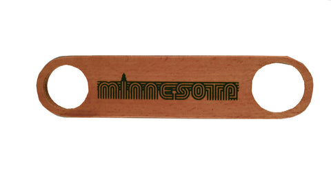 Bottle Opener- WOODEN MINNESOTA