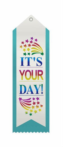 It's Your Day -Double Ribbon