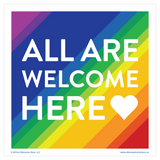 All Are Welcome Here- Prints