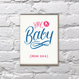 Baby Cards- Bench Pressed
