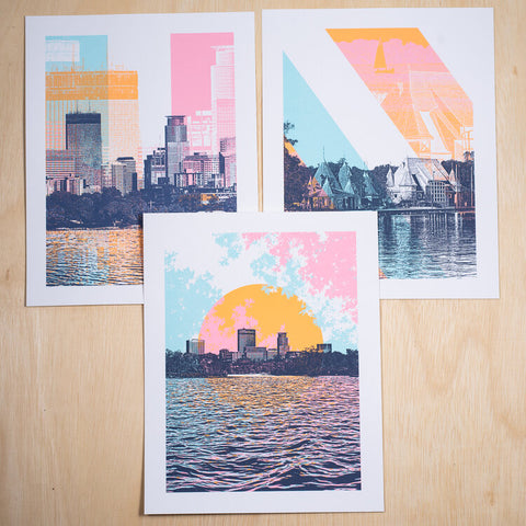 Dogfish Media- Chain Of Lakes Prints