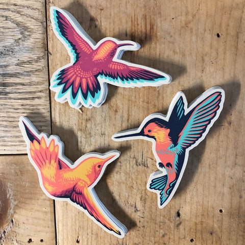 John Vogl- Hummingbird Stickers