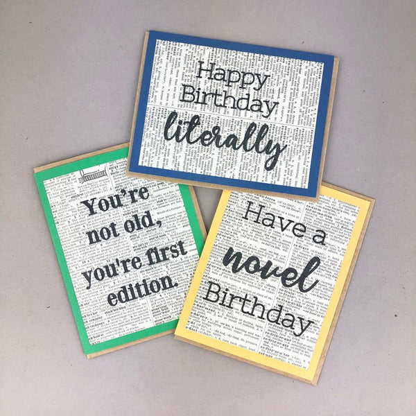 Birthday Cards - Fiction Reshaped