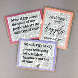 Wedding & Anniversary Cards - Fiction Reshaped