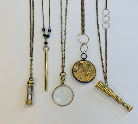 Dani Awesome- Found Object Necklaces
