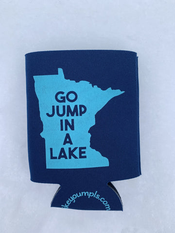 Go Jump in a Lake Koozie