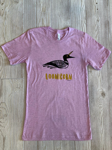 T-Shirt- Lavender Loonicorn (Heathered)