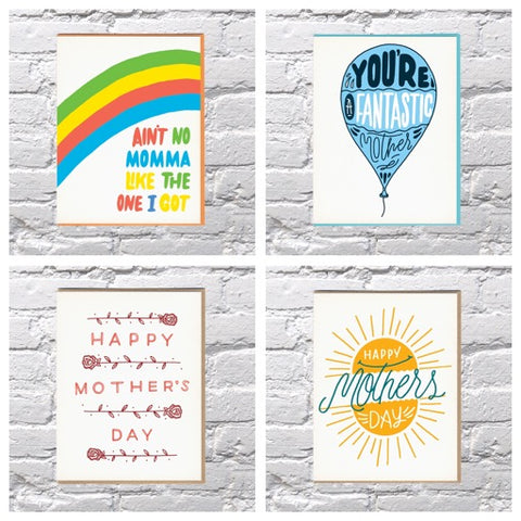 Mother's Day Cards- Bench Pressed